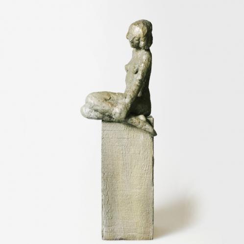 Figur auf Block II